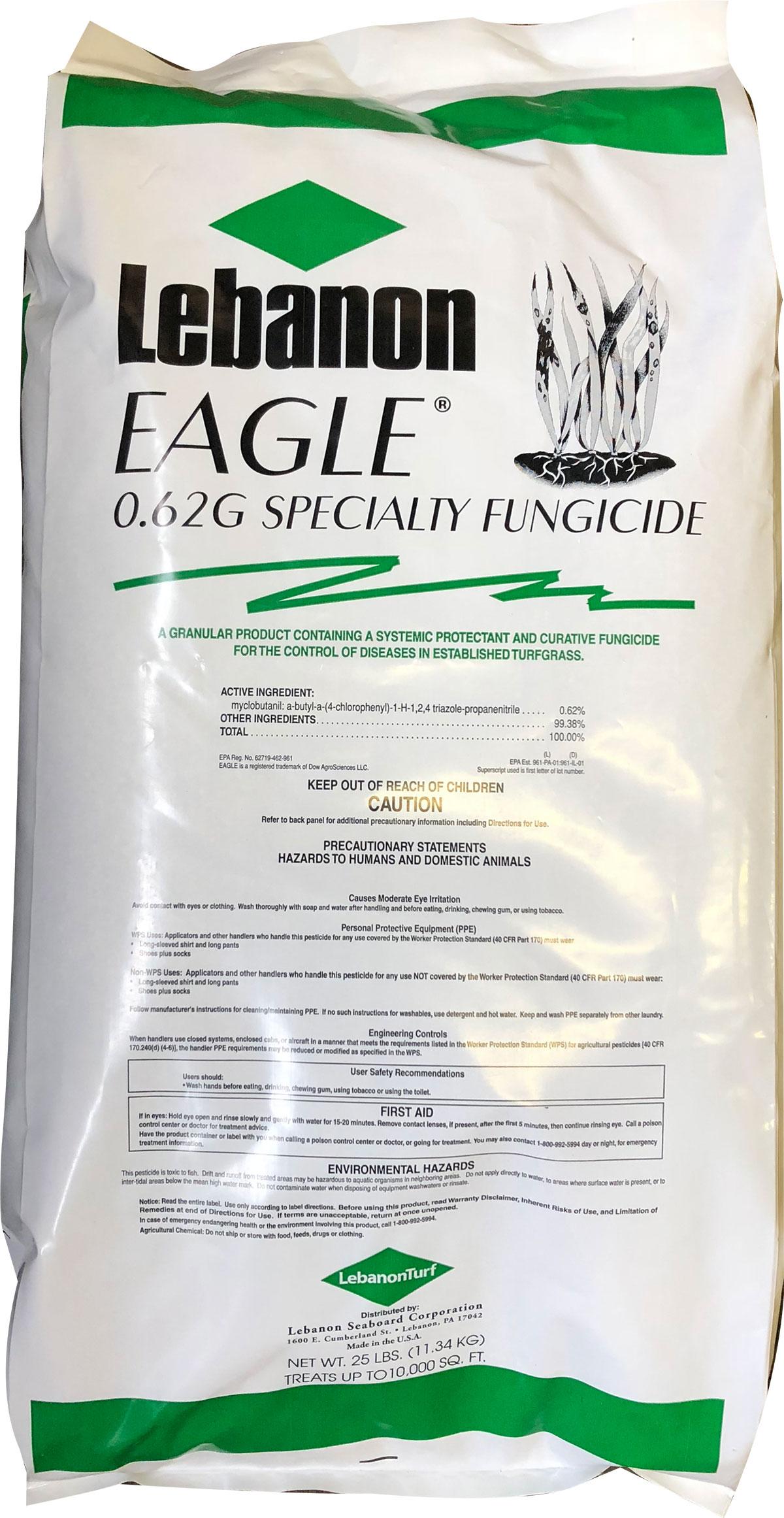 Lebanon Eagle  62G Fungicide   LebanonTurf